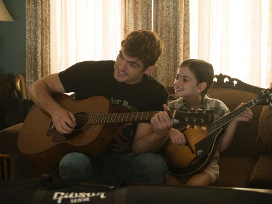 "Alex Roe and Abby Ryder Fortson star in ""Forever My"