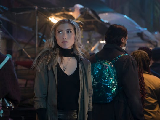 """Dichen Lachman plays Reileen, Takeshi Kovacs' sister, in Netflix's """"Altered Carbon."""""""