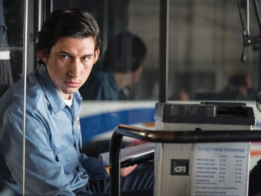 "Adam Driver in ""Paterson."""