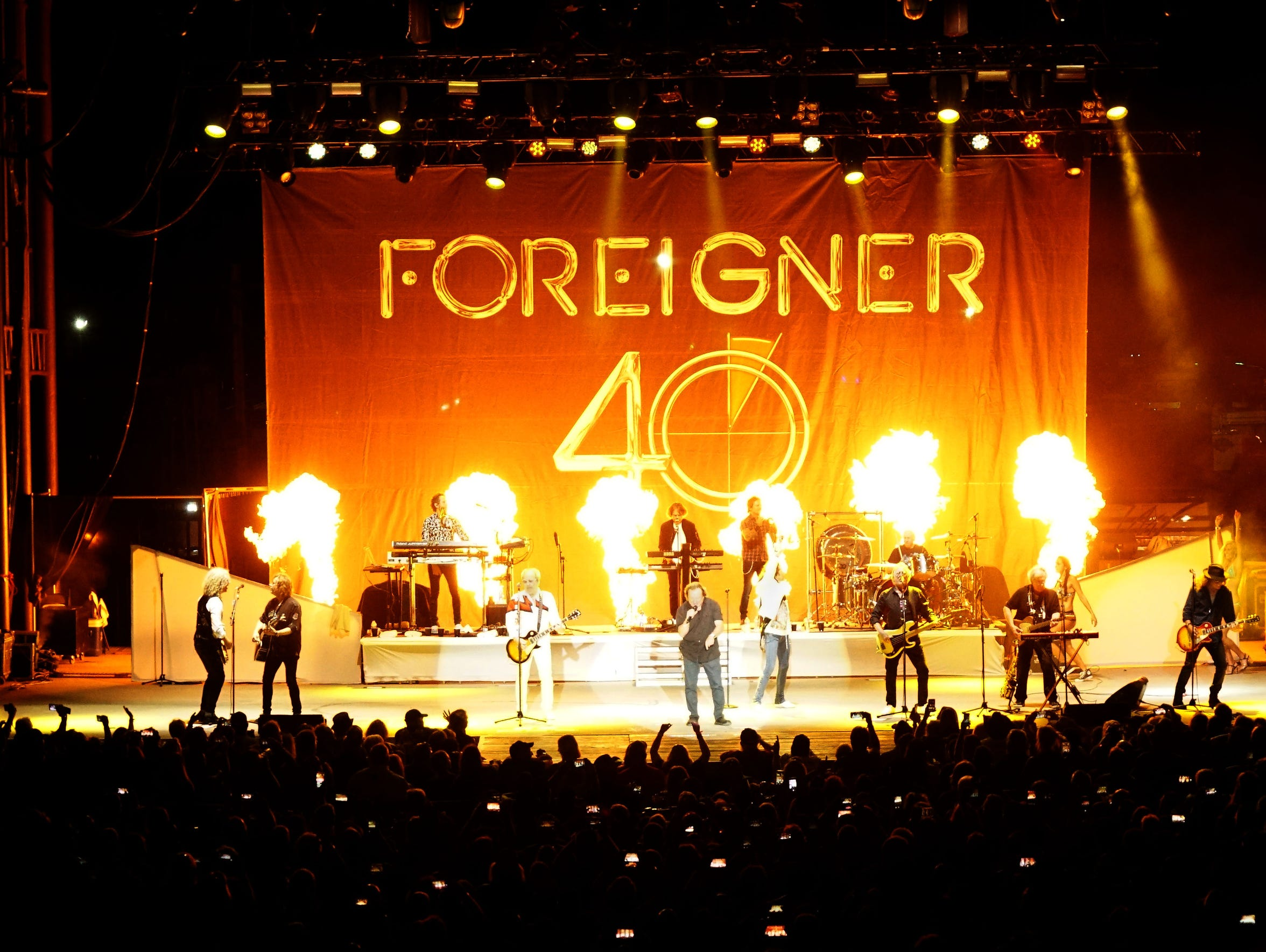Original members of Foreigner take the stage with current