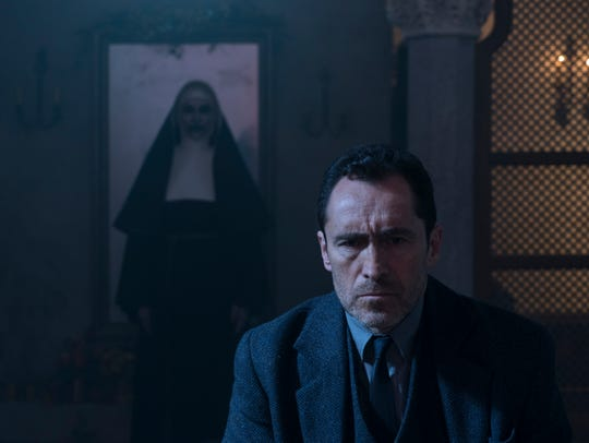 Father Burke (Demián Bichir) better look behind him