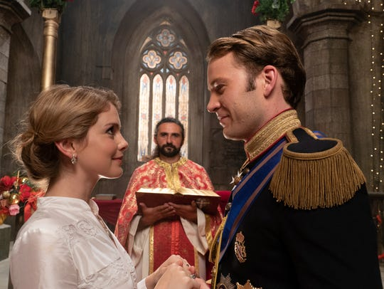 """A Christmas Prince,"" starring Rose McIver and Ben"