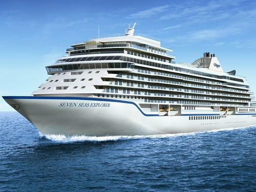 Exclusive First Look At Luxury Line Regents New Ship - New luxury cruise ships