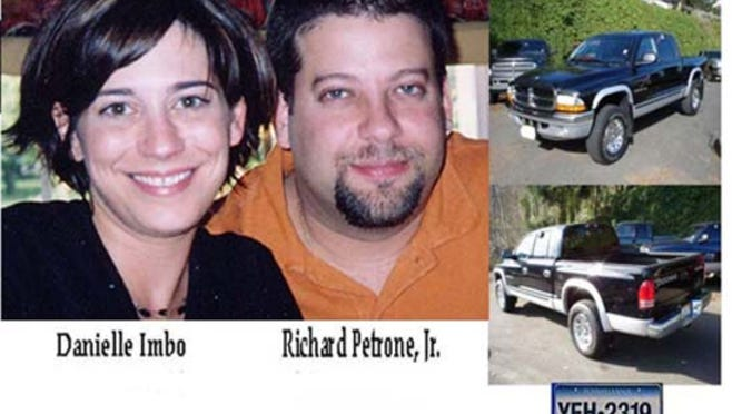 """Danielle Imbo of Mount Laurel and Richard Petrone Jr. of Philadelphia have been missing since Feb. 19, 2005. Richard's mother, Marge Petrone, will be the keynote speaker at the """"Missing in New Jersey"""" event on Saturday."""