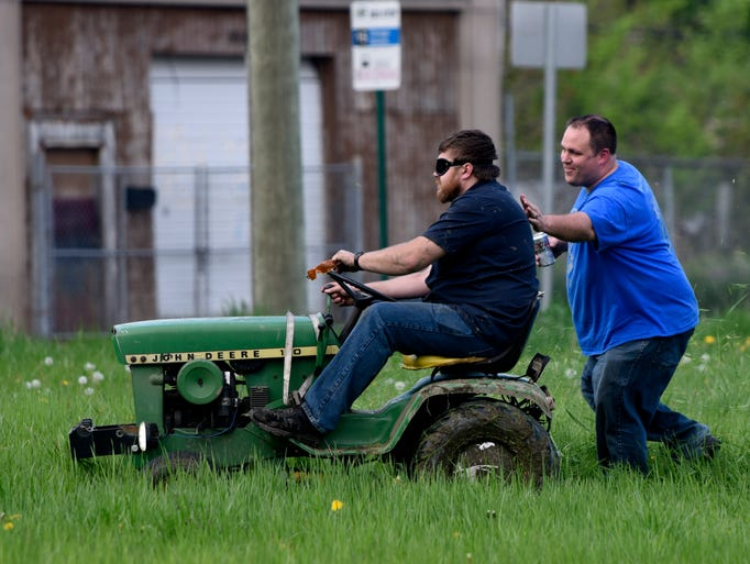 Members of the Detroit Mower Gang John Barrett, of