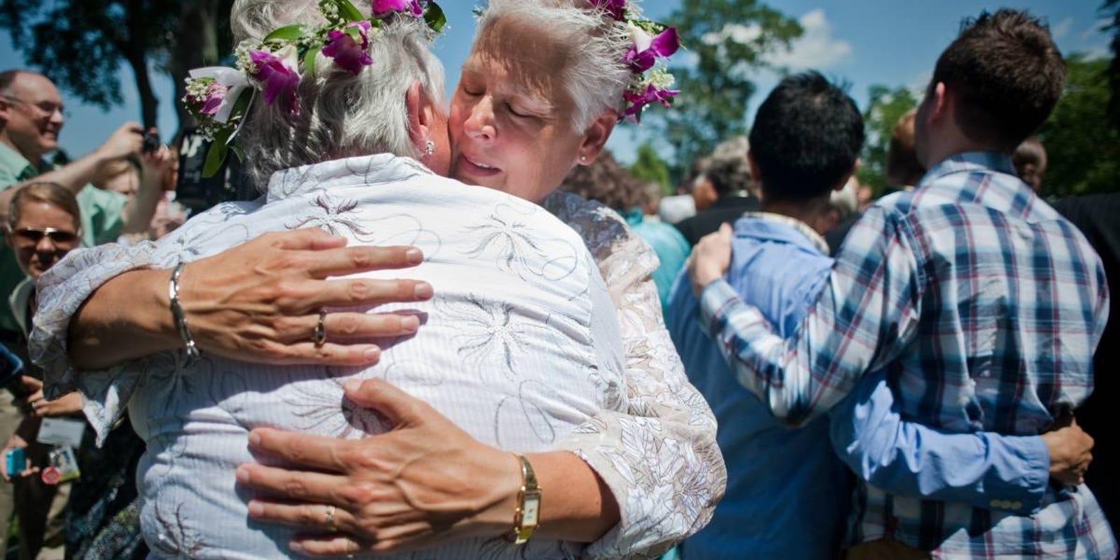California gay marriage polls