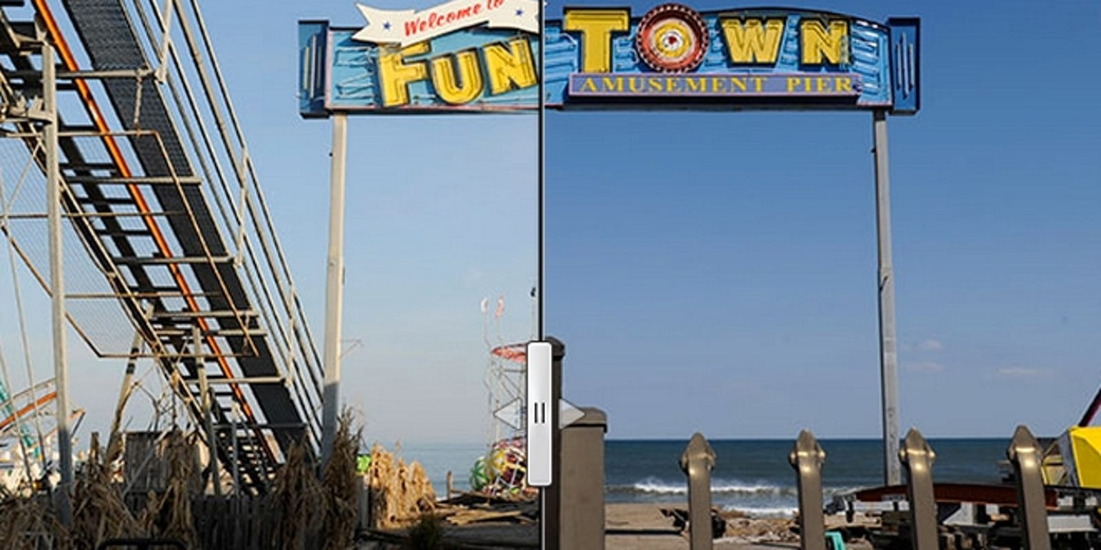 before and after seaside heights nj boardwalk
