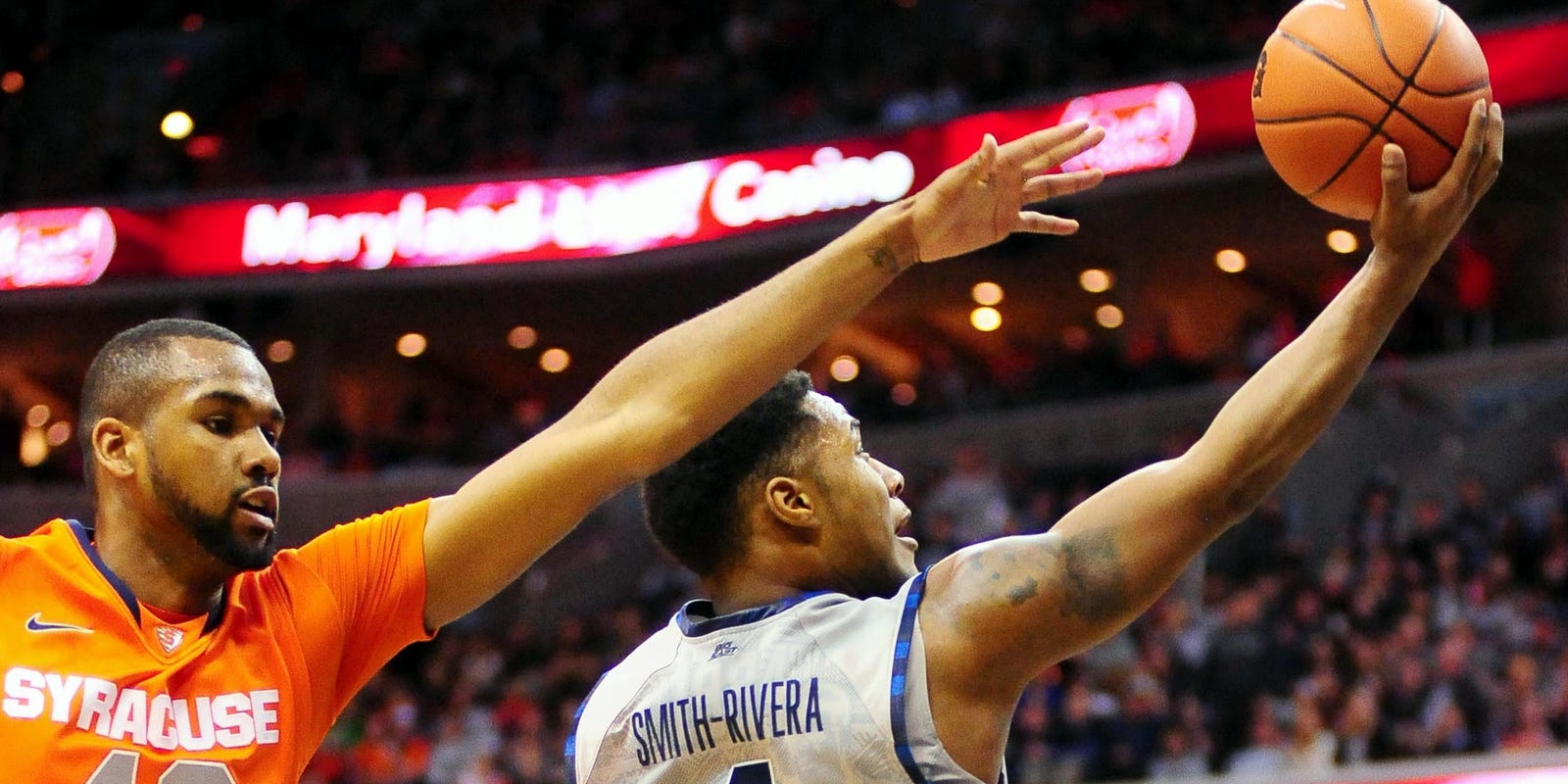 Georgetown routs rival Syracuse, captures share of Big ...