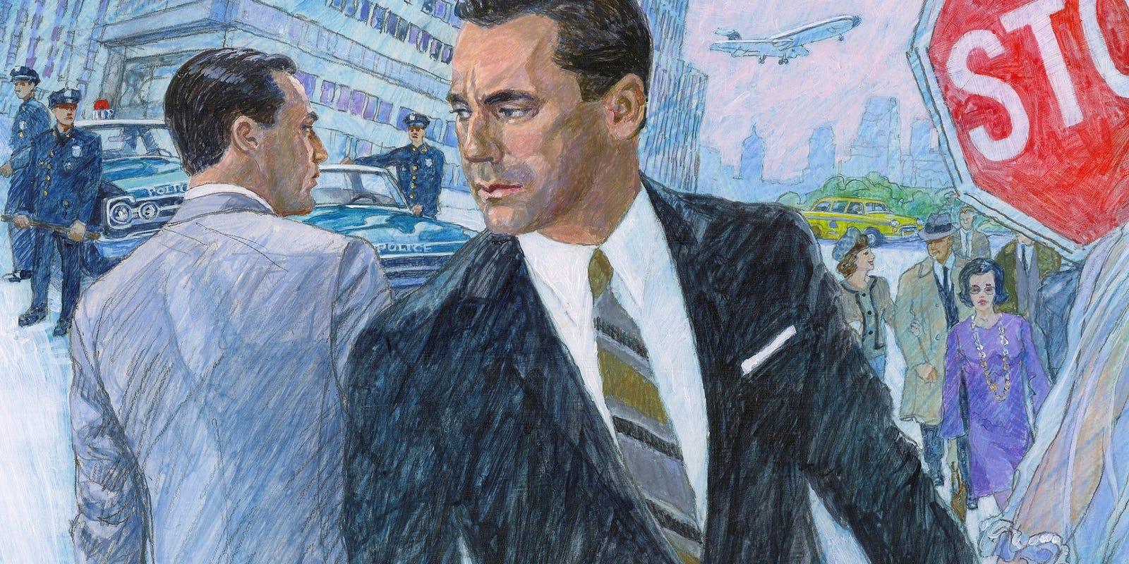 mad men socially deconstructed Here are 15 superhero universes that put the dcu and marvel  ennis and robertson's mad,  a socially-conscious saga chronicling a superhero civil war that.