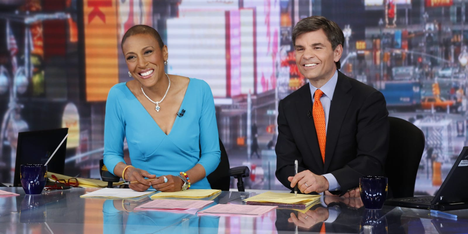 Good Morning America View Your Deal : Robin roberts returns to gma