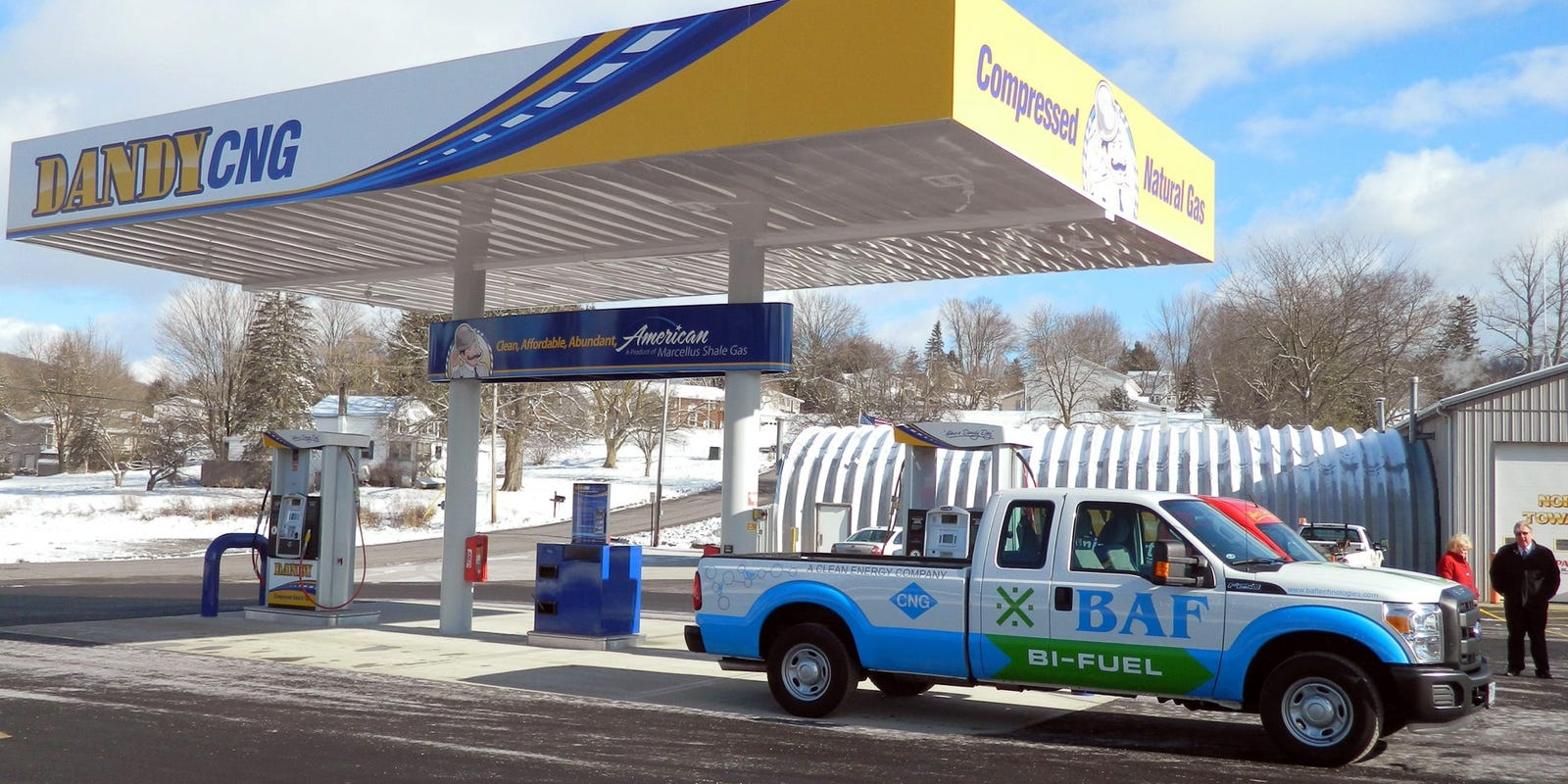 Natural Gas Vehicle Sales Tiny, But Picking Up