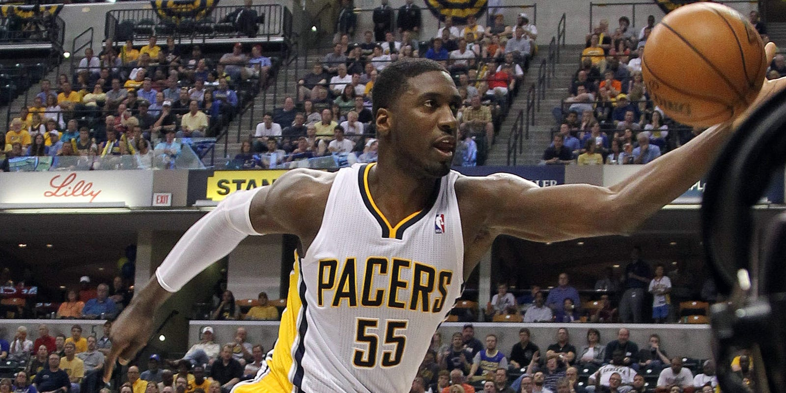 Hibbert and no 6 seed hawks al horford are two of the best centers - Atlanta Hawks In Game 5