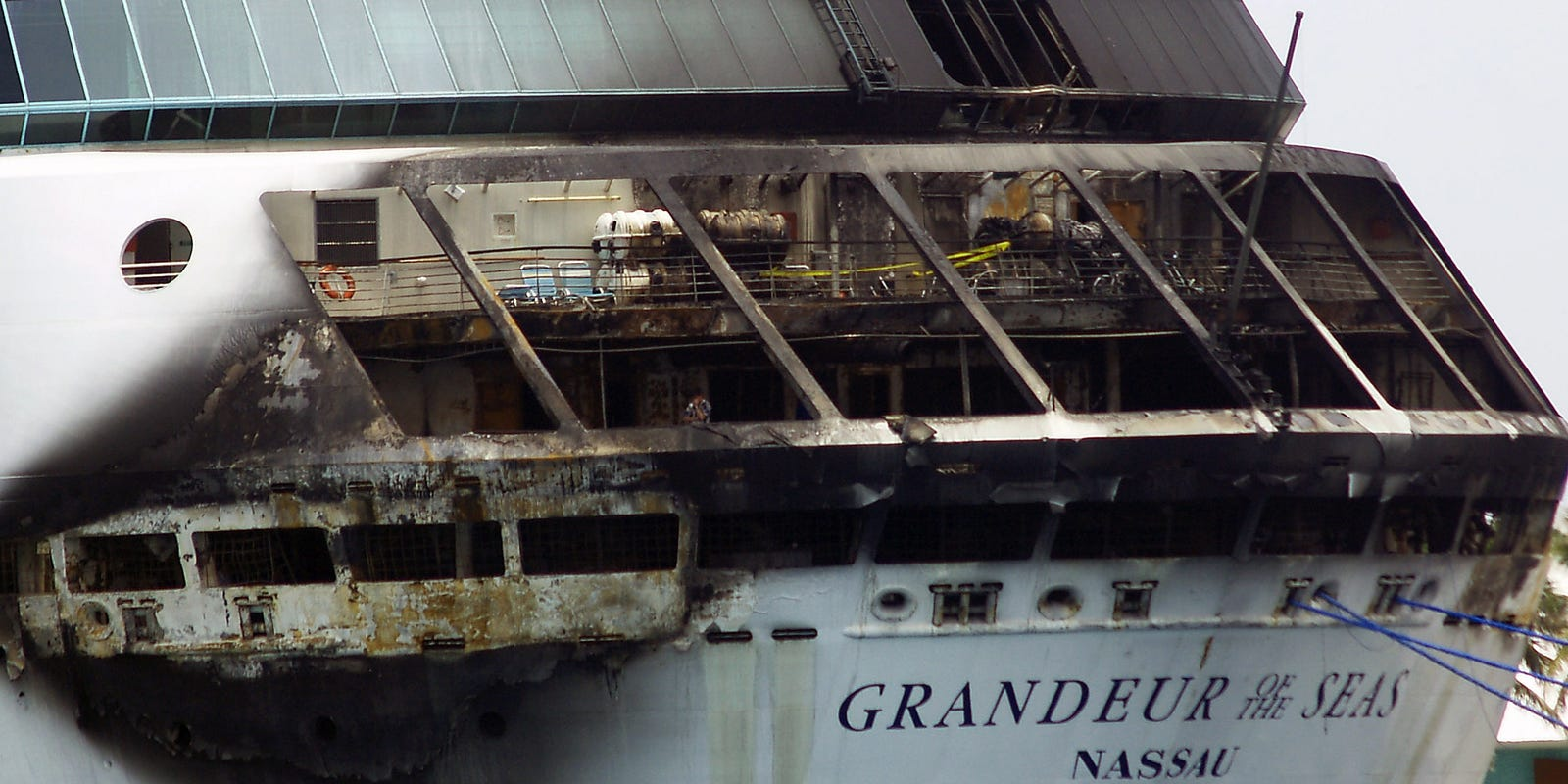 Cause Of Cruise Ship Fire Remains A Mystery - Granduer of the seas