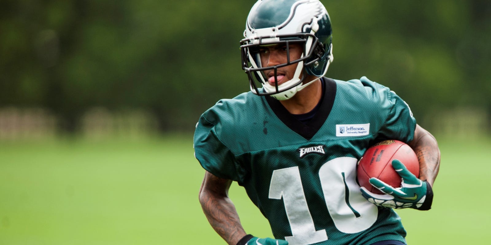 No Mercy For Your FAVES: Mr. DeSean Jackson set his