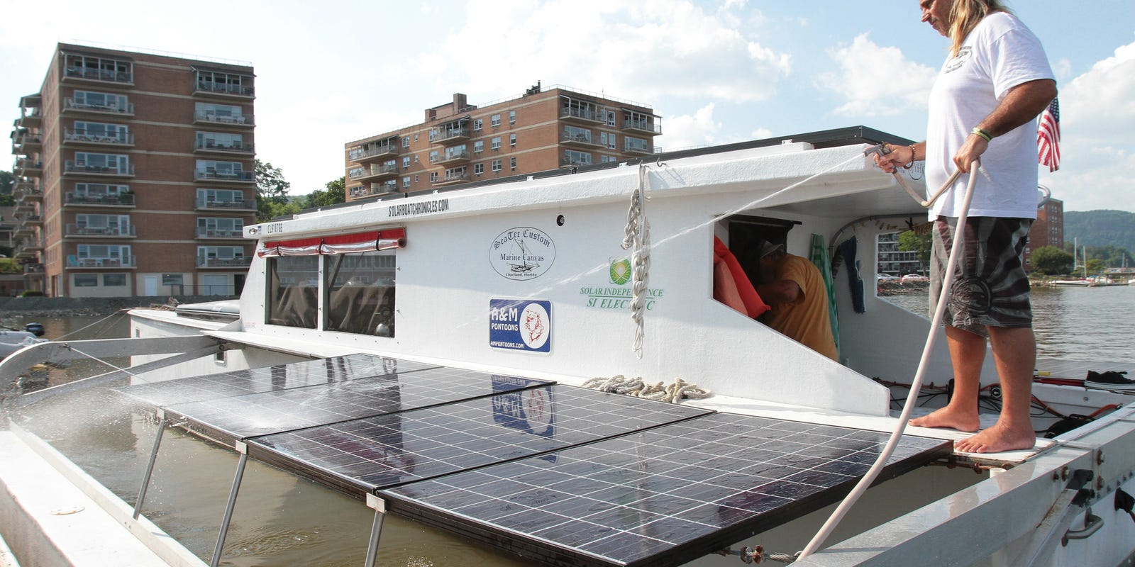 Marine solar panel installations first mate marine inc - Marine Solar Panel Installations First Mate Marine Inc 19
