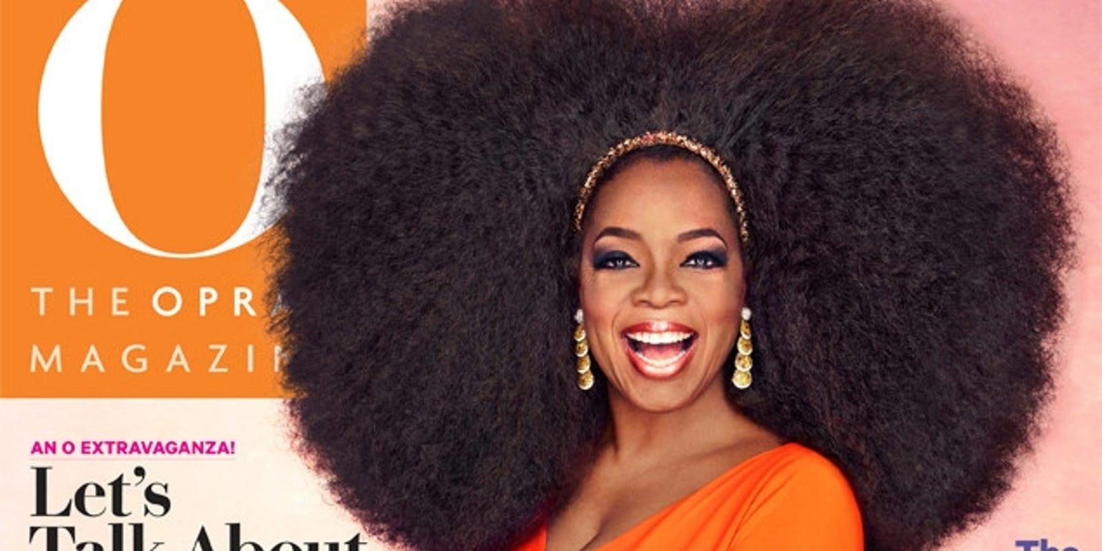 Oprah unveils hair raising issue urmus Image collections