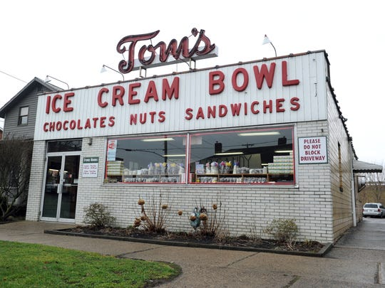 Tom's Ice Cream Bowl is located at 532 McIntire Ave. in Zanesville and open Sunday through Thursday, 11 A.M. to 10 P.M. and Friday through Saturday, 11 A.M. to 11 P.M.