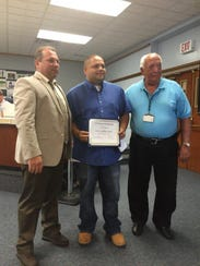 Vineland Public Schools security officer Eddie Santiago