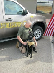Deputy Mike Graf of the Washington County Sheriff's