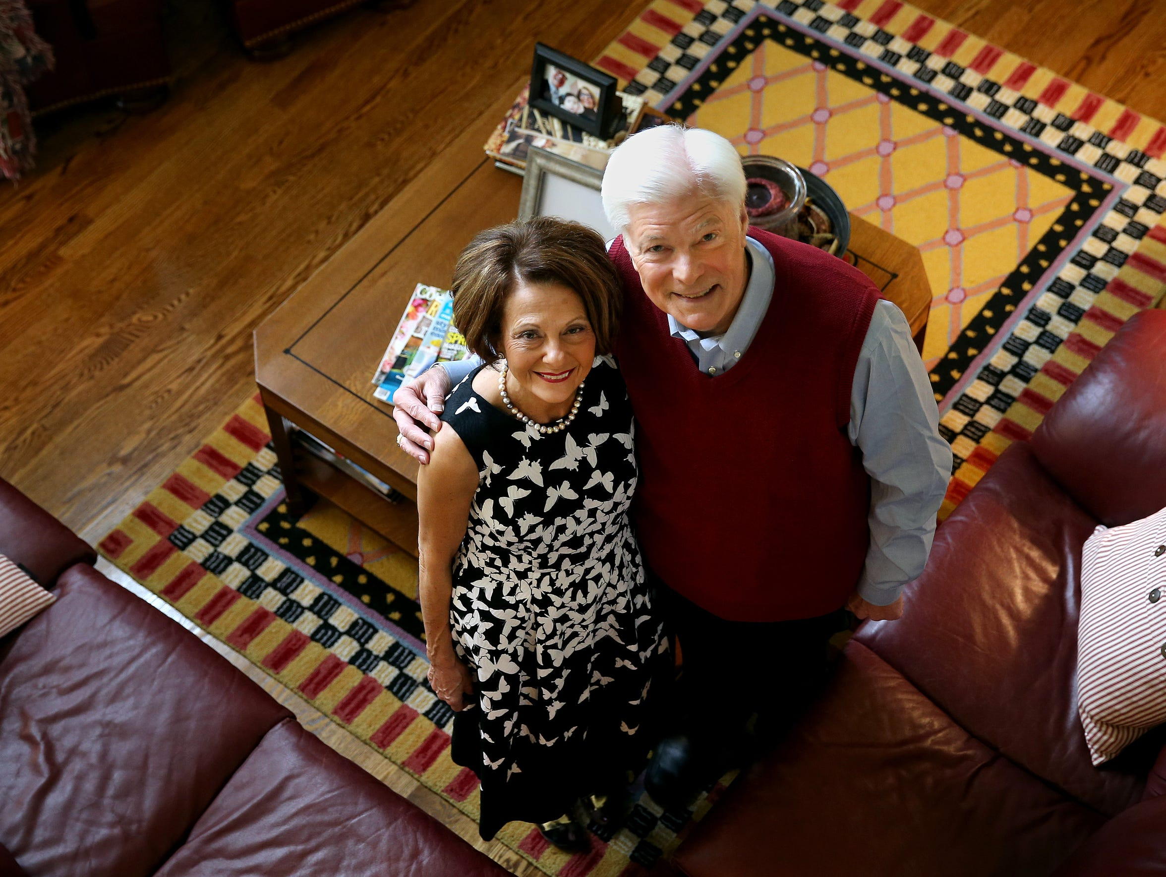 Mary and Don Alhart were married in 1970. They met