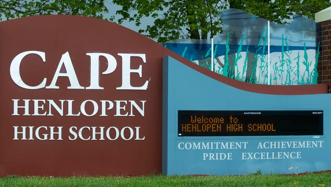 Cape Henlopen High School, Lewes.