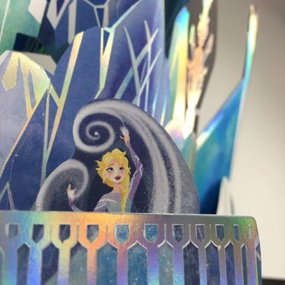 Pop-up artist used paper to create as child