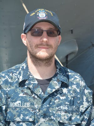 Seaman Allen McKelleb is serving on the USS Makin Island.