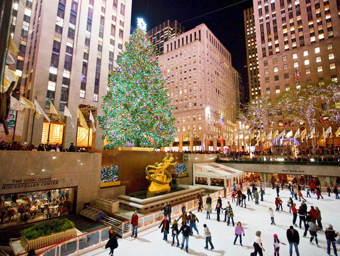 Nothing says the holidays in NYC like a visit to Rockefeller