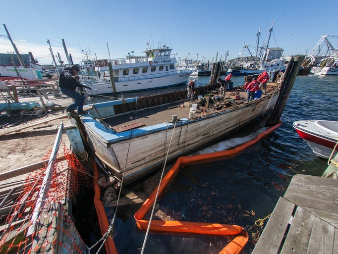 Miss point pleasant ii goes to the graveyard for Point pleasant fishing boats