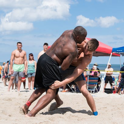 Beach Nationals champion Jacob Kasper of Lexington