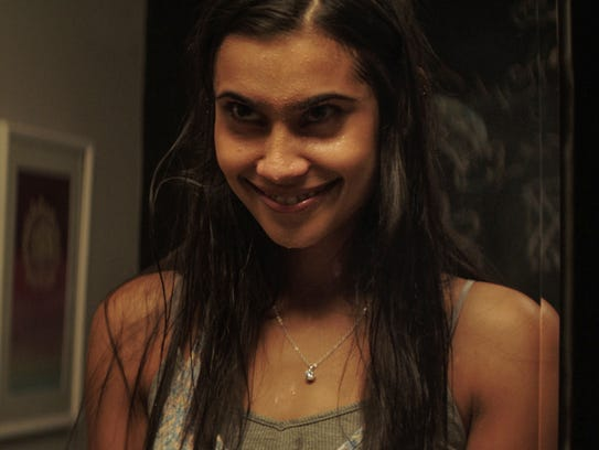 """Truth or Dare"" stars like Sophia Taylor Ali creeped out crowds with evil grins."