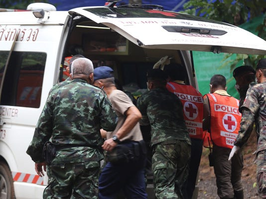 EPA THAILAND ACCIDENT CAVE DIS ACCIDENTS (GENERAL) THA CH
