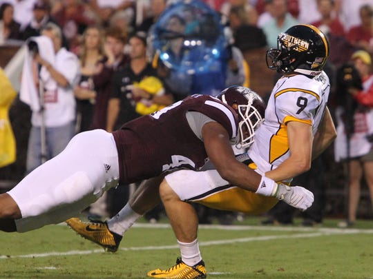 Mississippi State senior Ryan Brown reflected on his