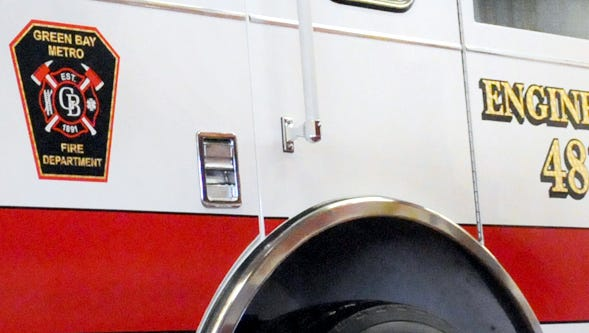 Green Bay Metro firefighters responded to three fires on the city's west side on Tuesday.