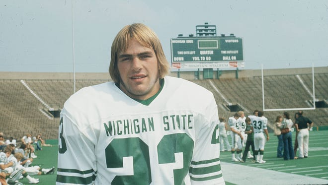 Kirk Gibson was first-team All America as a Michigan State Spartans wide receiver in 1978.
