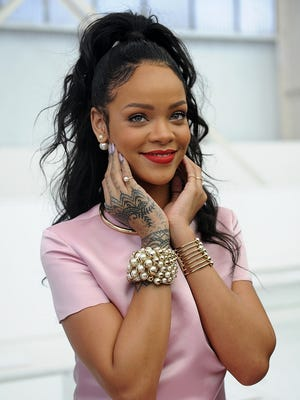 Rihanna, attending the Dior Cruise Fashion Show last year, has a new single out and an album on the way.