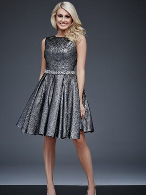 This Jovani dress is part of their Maslavi Collection, available for $500.