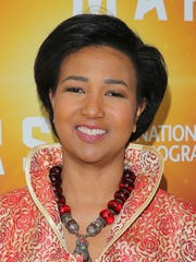 """Dr. Mae C. Jemison attends the National Geographic Channel """"MARS"""" Premiere NYC on October 26, 2016 in New York City."""