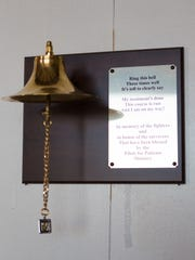 A bell in memory of the fighters and in honor of the survivors