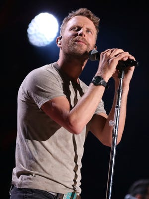 Dierks Bentley is a nominee for the 2018 ACM Awards.
