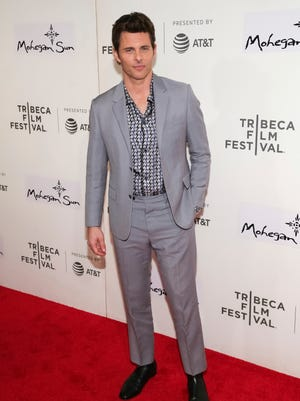 """James Marsden went to a """"Westworld"""" screening on April 19."""