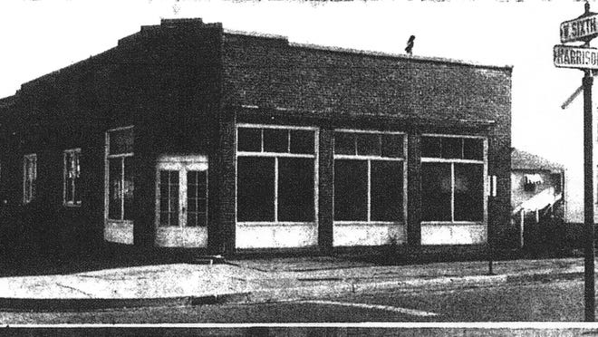 This photo appeared in the Eagle-Gazette on Dec. 20, 1955, announcing that the building on the southeast corner of Sixth and Harrison would be the new home of the West Branch Library. It was to officially open on Jan. 3, 1956.