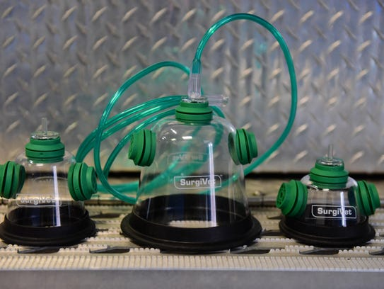 Pet oxygen masks were recently donated to the New Milford