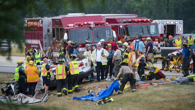 Crews are on scene of multiple fatalities on Route 1 near Townsend.
