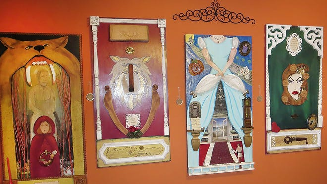 Artist Vickie Williams, known for three-dimensional collage series portraying glimpses of popular fairy tales, will participate in the 2016 Sumner County Artists and Artisans Studio Tour Nov. 5 and 6.