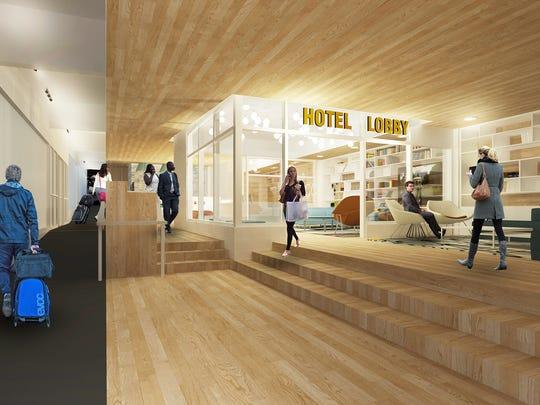 Lobby view III