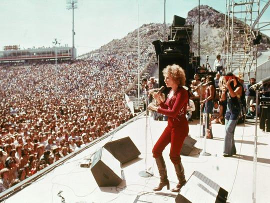 That's Barbra Streisand at Arizona State University