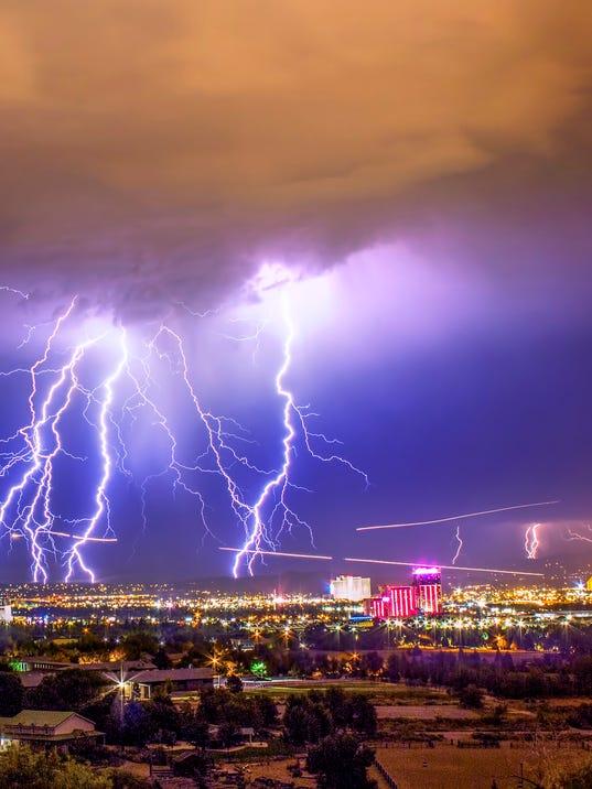 Lightning Storm - Reno, Nevada