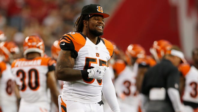 The Cincinnati Bengals outside linebacker Vontaze Burfict's performance has erased shaky first impressions.