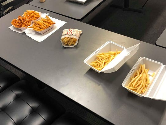 Which local french fries will make the cut?